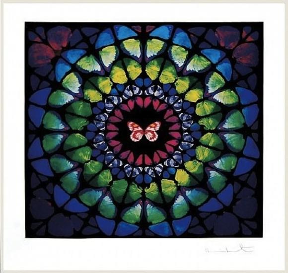 Spire sanctum by damien hirst buy affordable art for Buy affordable art online