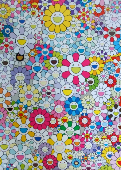 An Homage To Yves Klein Multicolor By Takashi Murakami