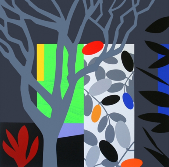 Dark garden by bruce mclean buy affordable art online for Buy affordable art online