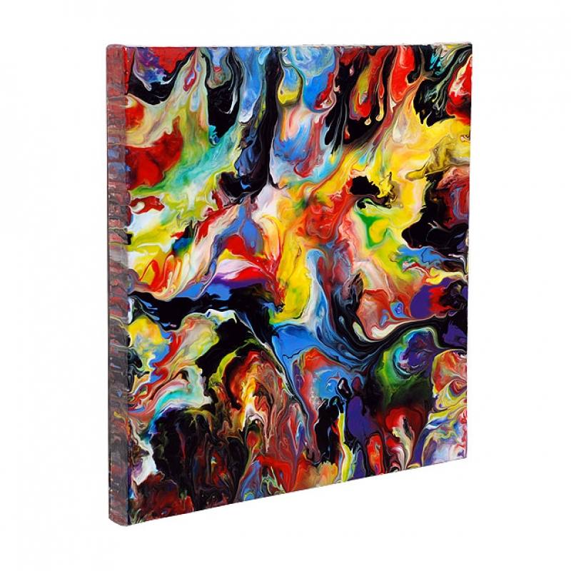 Fluid painting 85 by mark chadwick buy affordable art for Buy affordable art online