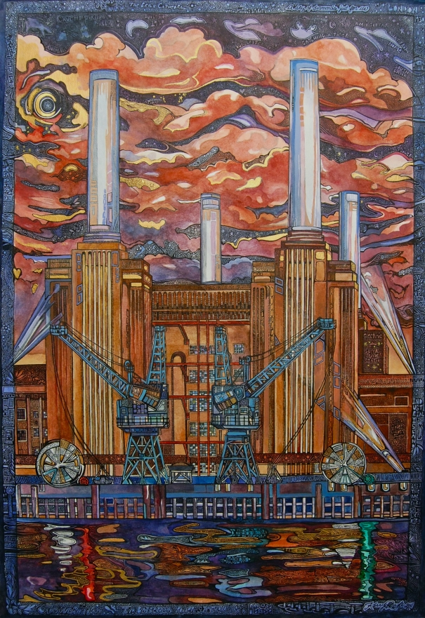 The Brick Cathedral (Battersea Power Station) by Kerry Royle