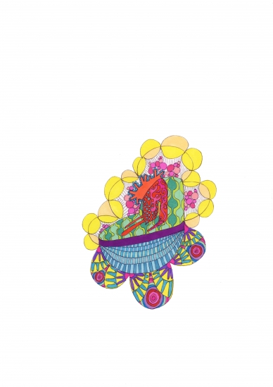 Rajasthan Doodle by Sarah Thomas