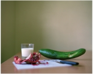 Still Life with Nike Cucumber