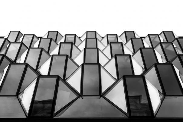 Urban Geometry - Oxford Street by Nick Miners