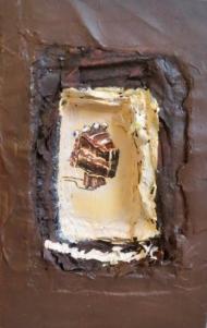 Cake relic: chocolate cake
