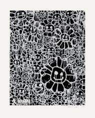 Murakami x MADSAKI Flowers Black B
