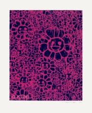 Murakami x MADSAKI Flowers Black Pink C