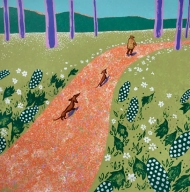 Hockney's dogs - Spring
