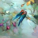 Print of little birdies 239