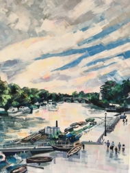 Riverside Evening, Richmond