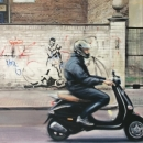 Moped Curtain Road