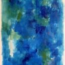 Blue over blue