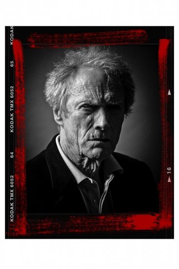 Clint Eastwood Portrait by Andy Gotts