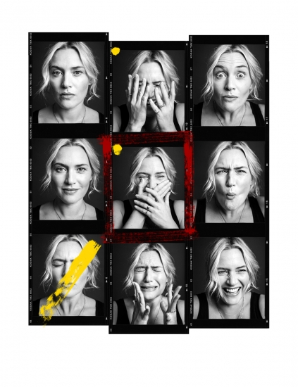 Kate Winslet Contact Sheet  by Andy Gotts