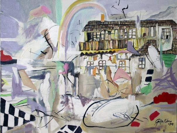 Rainbow II. by Edina Gulyas