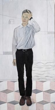 Portrait of artist Evgeny Osipov