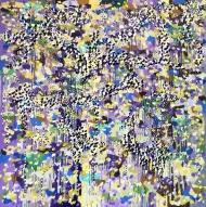 Vibrant Violet Flurry