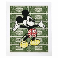 Monster Mickey Giclee Edition - Supersize