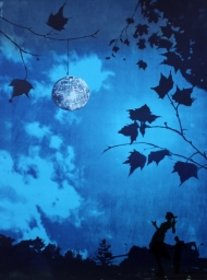 Dancing Under the Glitterball Moon