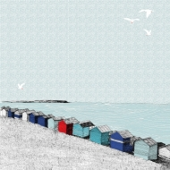 Whitstable Sloping Beach Huts