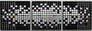 Pixelation (triptych)