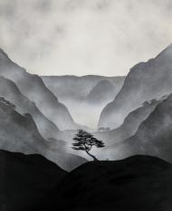 central tree (print)