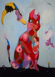 It's a red cat!