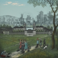 Greenwich Park - Spring, after Bruegel