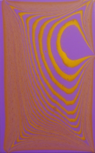 Tipping Point (brilliant purple / cadmium yellow deep hue) #1