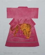 Pink Tiger Kimono