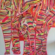Mum and Baby Elephants
