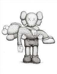 Gone: KAWS Limited Edition Art Book with Print
