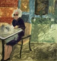 Madame qui déjeune or Déjeuner à Londres
