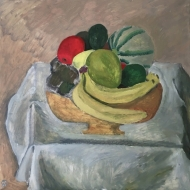 Vase avec fruits