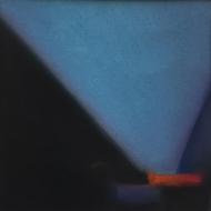 Lightscapes- Lamp Black, Cerulean Blue
