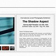 The Shadow Aspect -  International Juried Photography Exhibition