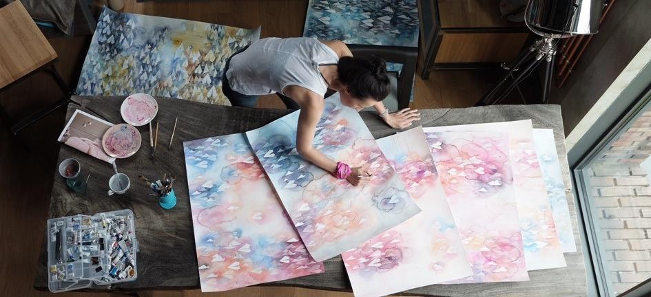 Yuliya Martynova's Watercolour World