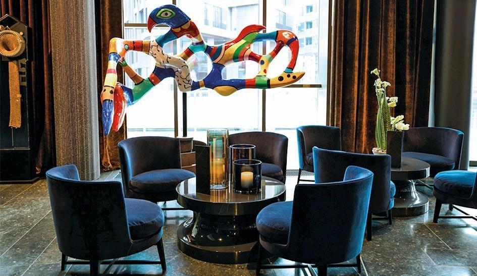 5 Art-tastic Hotels Around the Globe